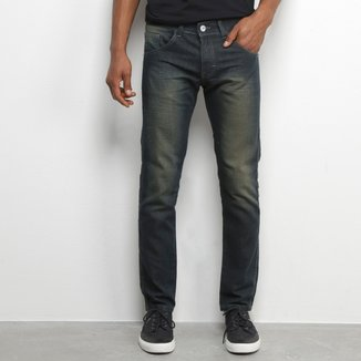 Calça Jeans Preston Básica Estonada Masculina