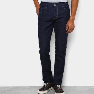 Calça Jeans Slim Coffee com Elastano Masculina