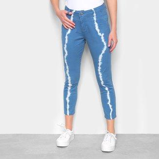 Calça Jeans Tye Die Feminina