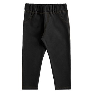 Calça Legging Bebê Marlan Molecotton Jeans Feminina