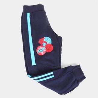 Calça Moletom Infantil Adidas Homem Aranha Masculina