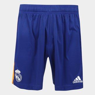 Calção Real Madrid Away 21/22 Adidas Masculino