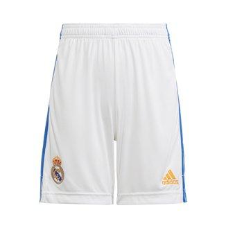 Calção Real Madrid Juvenil Home 21/22 Adidas