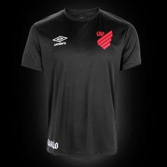 Camisa Athletico Paranaense Black Edição Limitada 20/21 s/n° Torcedor Umbro Masculina