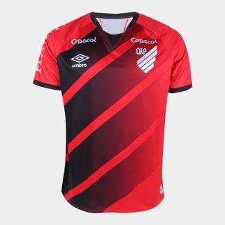 Camisa Athletico Paranaense I 20/21 s/n° Jogador Umbro Masculina