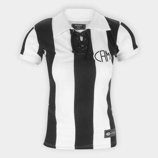 Camisa Atlético Mineiro 1914 Retrô Mania Feminina
