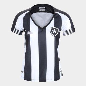 Camisa Botafogo I 20/21 s/n° Torcedor Kappa Feminina