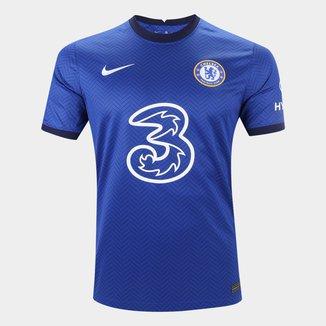 Camisa Chelsea Home 20/21 s/n° Torcedor Nike Masculina