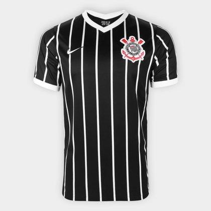 Camisa Corinthians II 20/21 s/n° Torcedor Nike Masculina