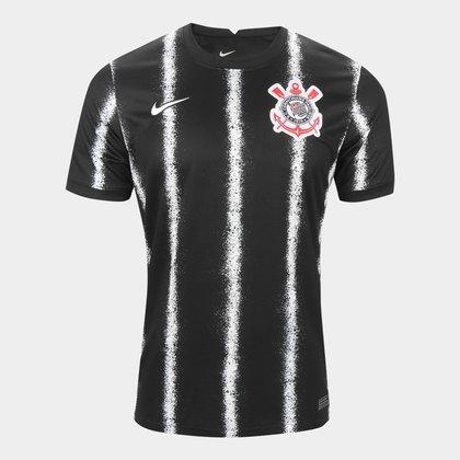 Camisa Corinthians II 21/22 s/n° Torcedor Nike Masculina