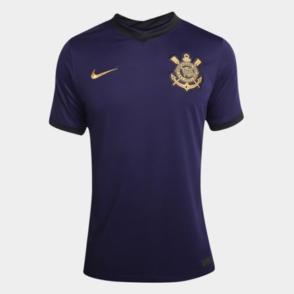 Camisa Corinthians III 21/22 s/n° Torcedor Nike Masculina