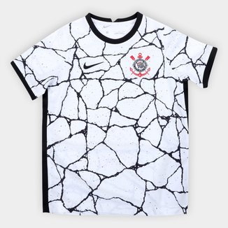Camisa Corinthians Infantil I 21/22 s/n° Torcedor Nike