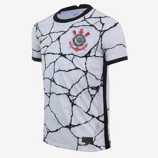 Camisa Corinthians Juvenil I 21/22 s/n° Torcedor Nike