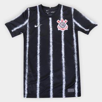 Camisa Corinthians Juvenil II 21/22 s/n° Torcedor Nike
