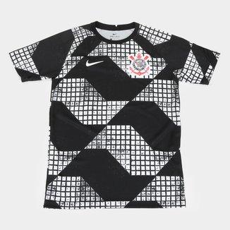 Camisa Corinthians Juvenil IV 20/21 Nike