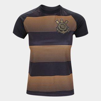 Camisa Corinthians Juvenil Silverstone Edição Limitada Feminina