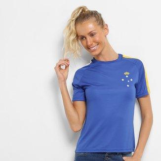 Camisa Cruzeiro 2006 S/N° Torcedor Feminina