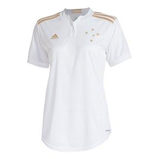 Camisa Cruzeiro II 21/22 s/n° Torcedor Adidas Feminina