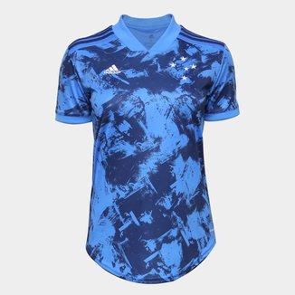 Camisa Cruzeiro III 20/21 s/n° Torcedor Adidas Feminina