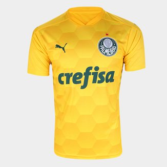 Camisa de Goleiro Palmeiras I 20/21 s/n° Torcedor Puma Masculina