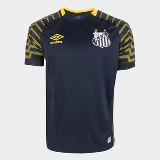 Camisa de Goleiro Santos 21/22 s/n° Torcedor Umbro Masculina