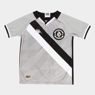 Camisa de Goleiro Vasco Infantil III 21/22 s/n° Torcedor Kappa