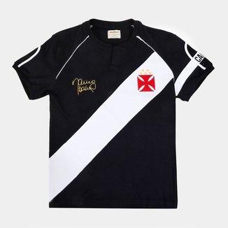 Camisa do Vasco Juvenil Retrô Mania 1998 Mauro Galvão