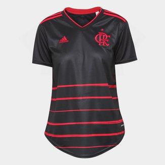 Camisa Flamengo III 20/21 s/n° Torcedor Adidas Feminina