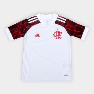 Camisa Flamengo Juvenil II 21/22 s/n° Torcedor Adidas
