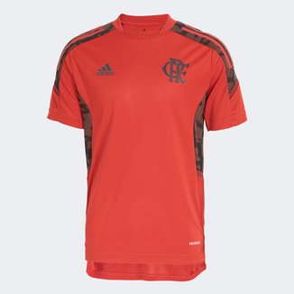 Camisa Flamengo Juvenil Treino 21/22 Adidas