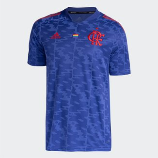 Camisa Flamengo Pride 21/22 s/n° Torcedor Adidas Masculina