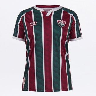 Camisa Fluminense I 20/21 s/n° Torcedor Umbro Feminina
