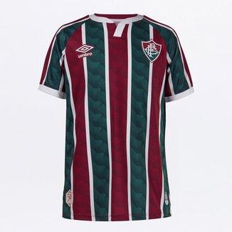 Camisa Fluminense Juvenil I 20/21 s/n° Torcedor Umbro