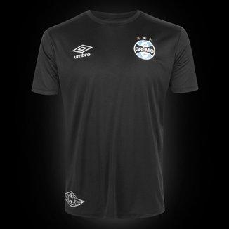 Camisa Grêmio Black Edição Limitada 20/21 s/n° Torcedor Umbro Masculina