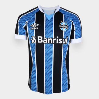 Camisa Grêmio I 20/21 s/n° Torcedor Umbro Masculina