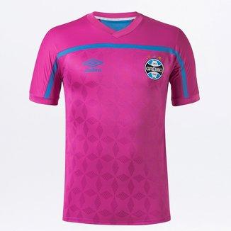 Camisa Grêmio Outubro Rosa 20/21 s/n° Torcedor Umbro Masculina