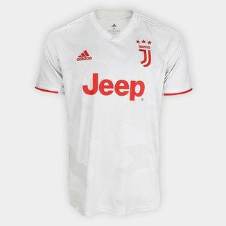 Camisa Juventus Away 19/20 s/nº Torcedor Adidas Masculina