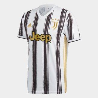 Camisa Juventus Home 20/21 s/nº Torcedor Adidas Masculina