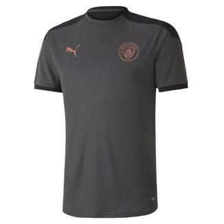 Camisa Manchester City Treino 20/21 Puma Masculina