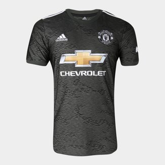 Camisa Manchester United Away 20/21 s/nº Torcedor Adidas Masculina