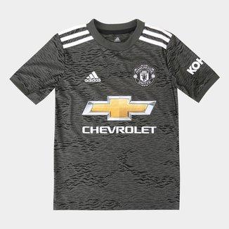 Camisa Manchester United Infantil Away 20/21 s/nº Torcedor Adidas