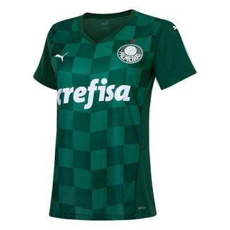 Camisa Palmeiras I 21/22 s/n° Torcedor Puma Feminina