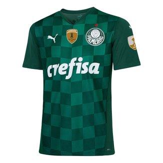 Camisa Palmeiras I Libertadores 21/22 s/n° Torcedor Puma Masculina