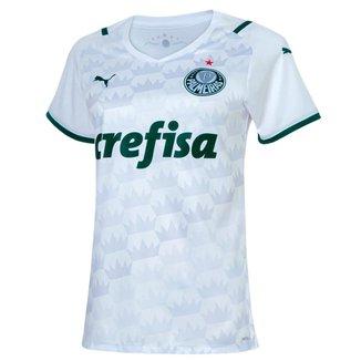 Camisa Palmeiras II 21/22 s/n° Torcedor Puma Feminina