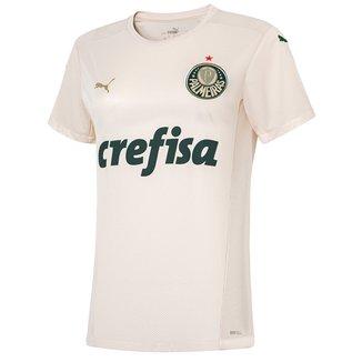 Camisa Palmeiras III 21/22 s/n° Torcedor Puma Feminina