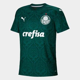 Camisa Palmeiras Juvenil I 20/21 s/n° Torcedor Puma