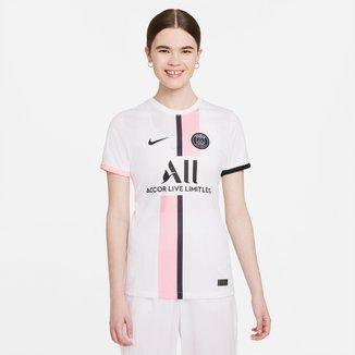 Camisa Paris Saint-Germain Away 21/22 s/n° Torcedor Nike Feminina