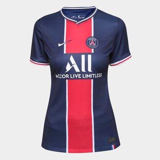 Camisa Paris Saint-Germain Home 20/21 s/n° Torcedor Nike Feminina