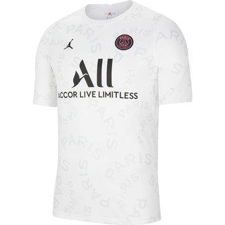 Camisa Paris Saint Germain Pré-Jogo 20/21 Nike Masculina