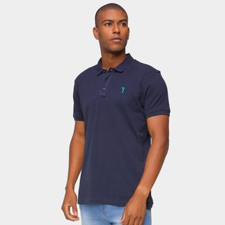 Camisa Polo Aleatory Lisa Masculina